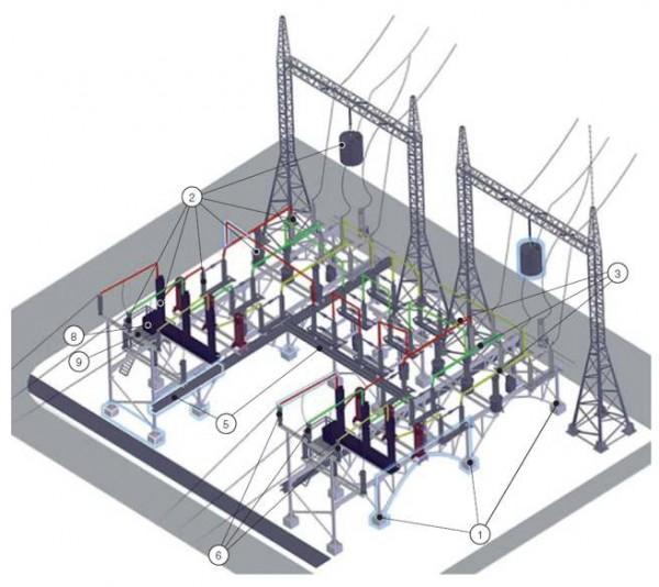 на каком расстоянии можно строить блочно модульную котельную от трансформаторной пуэ